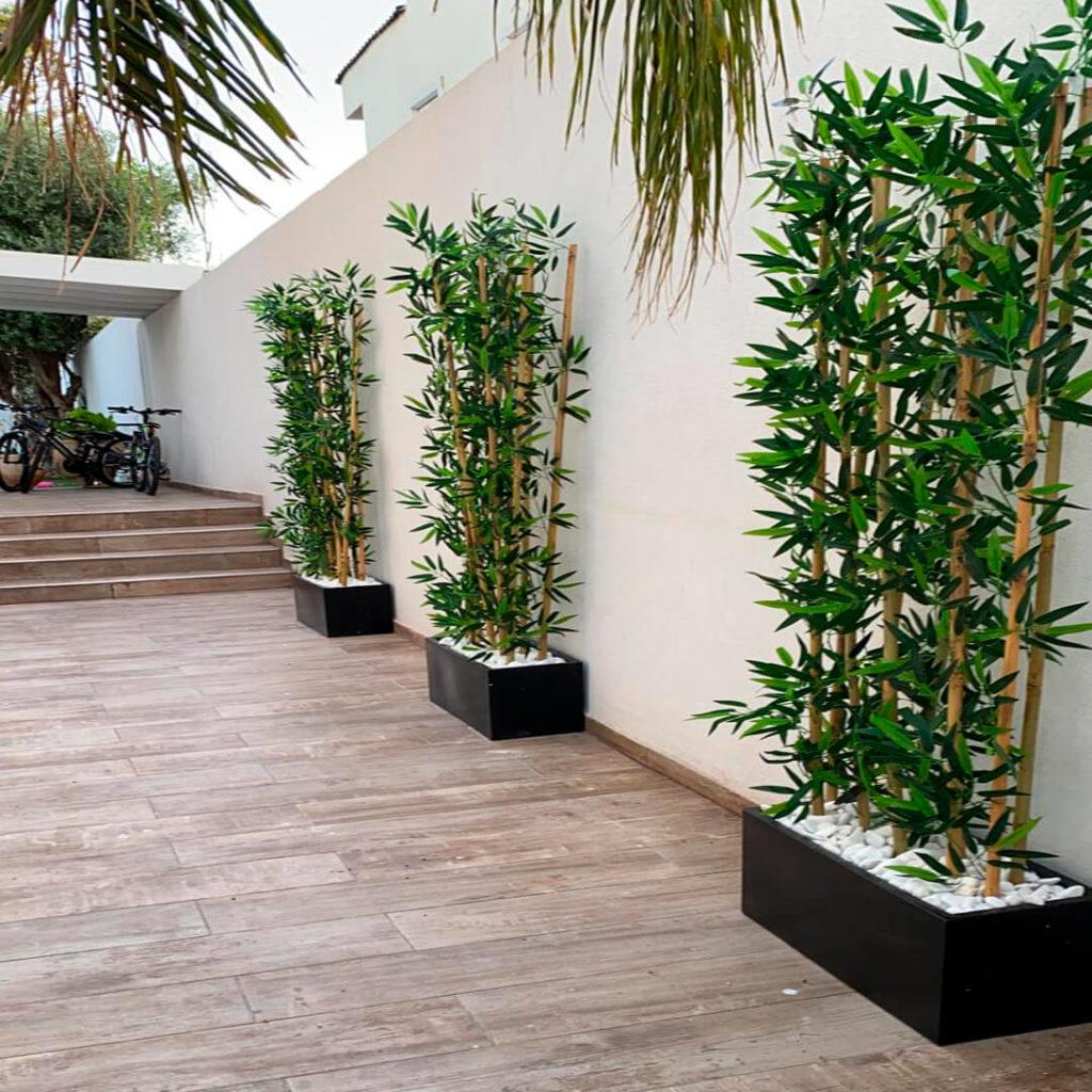צמחיה מלאכותית לגינה