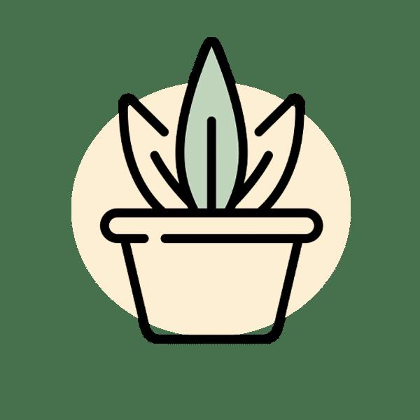 אייקון צמח מלאכותי